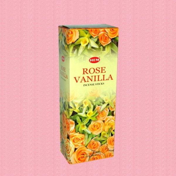 Betisoare Parfumate Trandafiri Vanilie